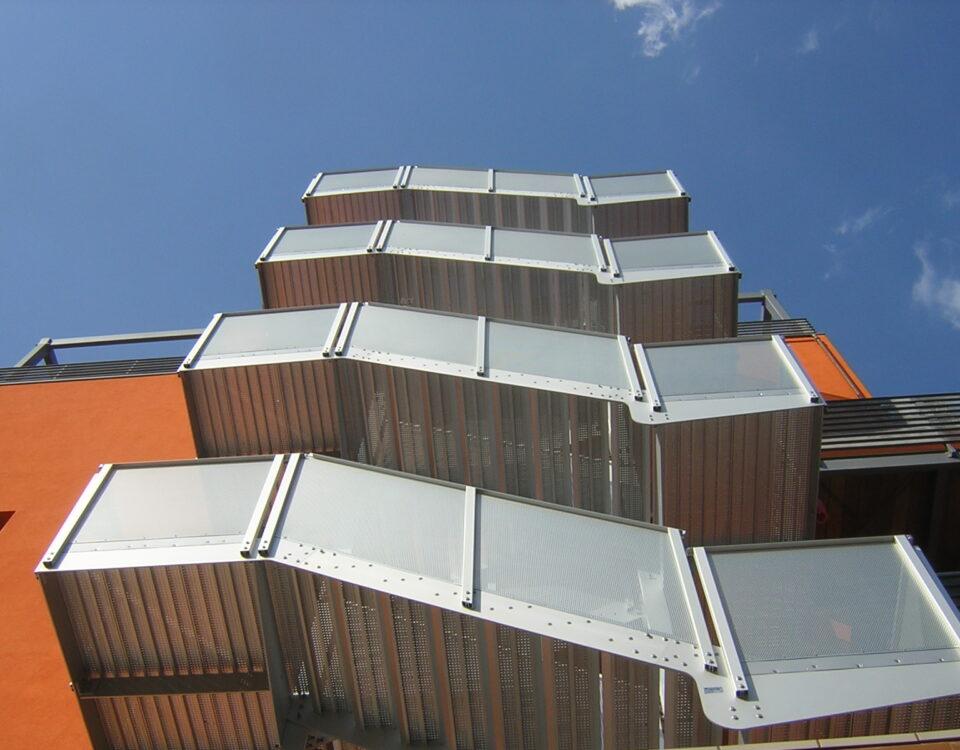 scala di sicurezza hotel